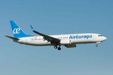 Un fallo técnico causó la alarma de secuestro en un avión de Air Europa en Amsterdam