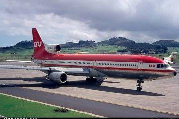L-1011 de LTU International en el aeropuerto de Los Rodeos Tenerife Norte