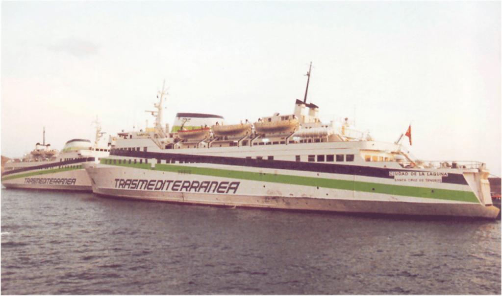 """Relevo de los """"delfines"""" en el puerto de Los Cristianos"""