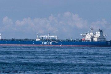 """El petrolero turco """"Istambul"""" consiguió zafarse del ataque"""