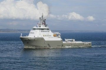 "El remolcador ""Boka Pegasus"", de la flota de Boskalis"