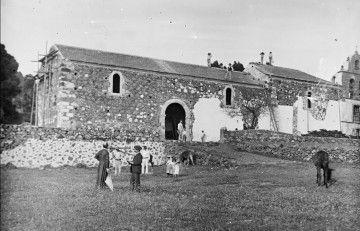 Estado en el que se encontraban las obras de ampliación a finales de 1903