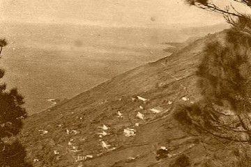 La parte alta del barrio de Las Indias, llamada Las Cabezadas, en una imagen de 1920