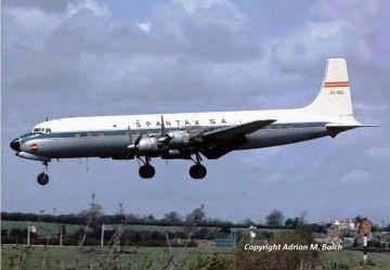 Douglas DC-7 de Spantax EC-BDL
