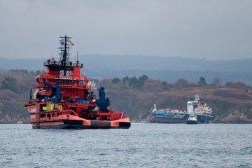 """Salvamento Marítimo sigue de cerca la situación del buque """"Blue Star"""""""