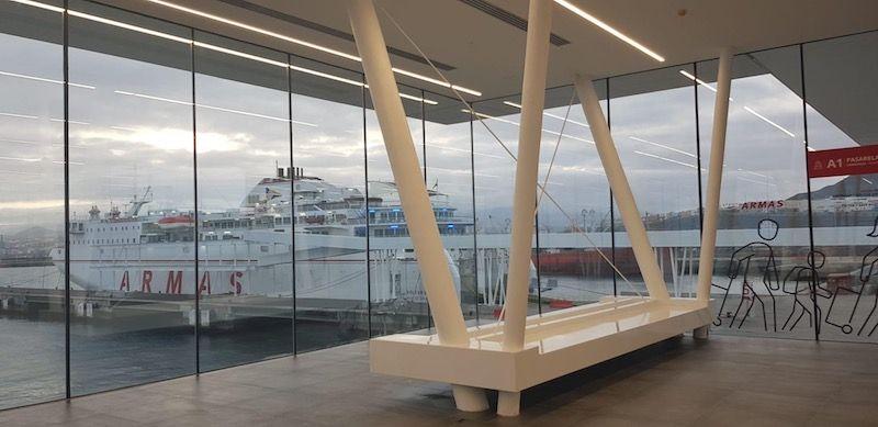 En el nuevo edificio dominan los espacios y la luz