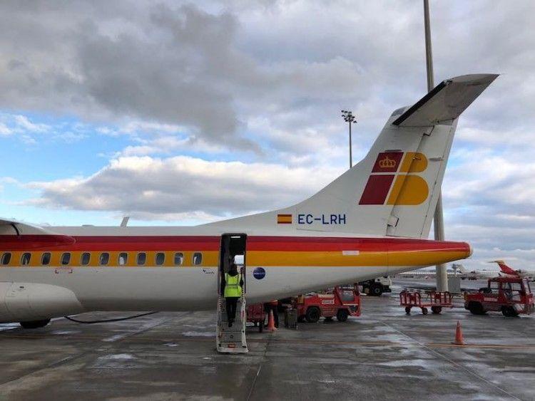 Canaryfly opera los vuelos de Air Nostrum en Melilla