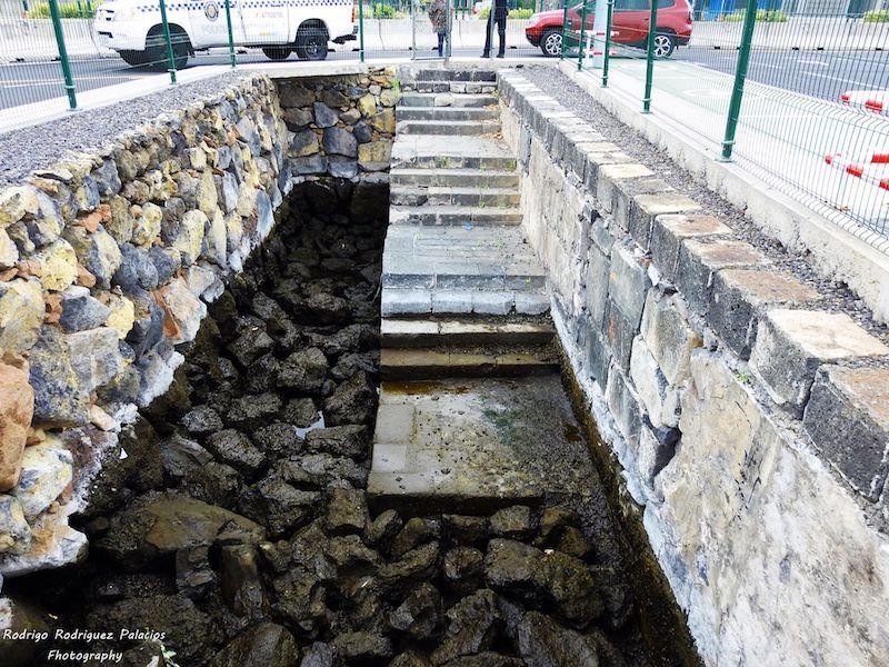 Las escaleras se han conservado en las obras de ampliación del puerto