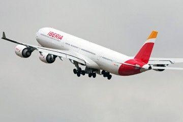 Iberia tiene planificada la retirada de la flota A340-600