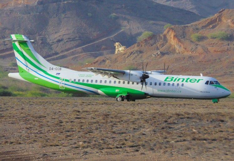 ATR-72 serie -500 de Binter CV