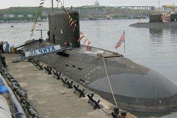 """Este es el submarino """"Chita"""", hundido en aguas del mar del Japón"""