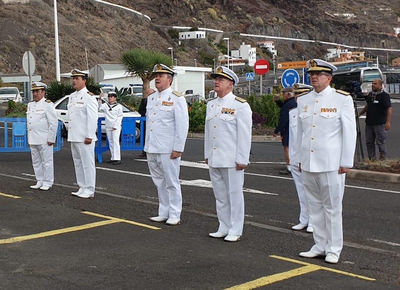 La Armada ha dado el máximo nivel a la reapertura de la Ayudantía Naval de El Hierro
