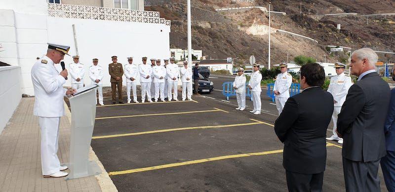 El AJEMA ha presidido el acto de reapertura de la Ayudantía Naval