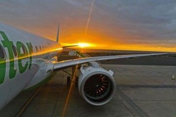 El primer Embraer E2 de Binter ya está en Canarias