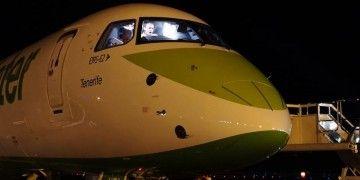 """El segundo Embraer E2 de Binter se llama """"Tenerife"""""""