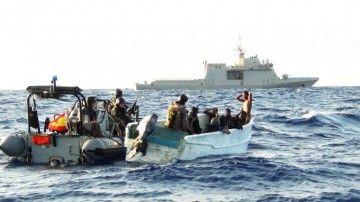 Piratas arrestados en aguas de Togo por infantes de Marina españoles