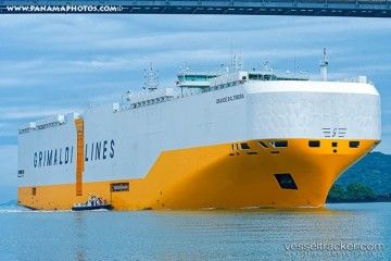 """Imagen del buque """"Grande Baltimora"""""""
