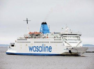 """El ferry """"Wasa Express"""", un veterano de 1981 muy manoseado"""