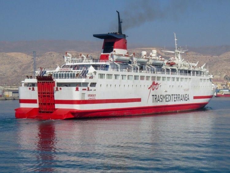 "El ferry ""Vronskiy"" pasa de Trasmediterránea a FRS Iberia"