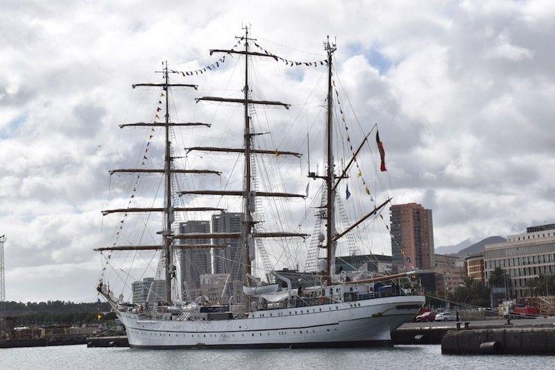 Es un barco bonito, que denota su origen alemán
