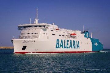 """El ferry """"Marie Curie"""", cuarto relevo en la línea de Huelva en el plazo de un año"""