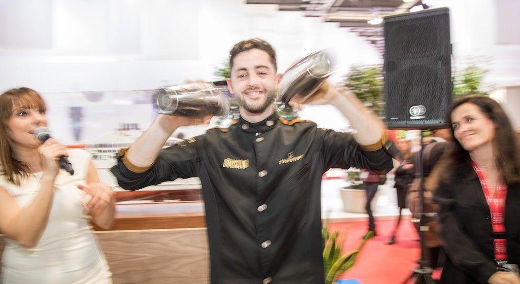 Exhibición del ganador de coctelería de Brass Club en Tapalma 2019