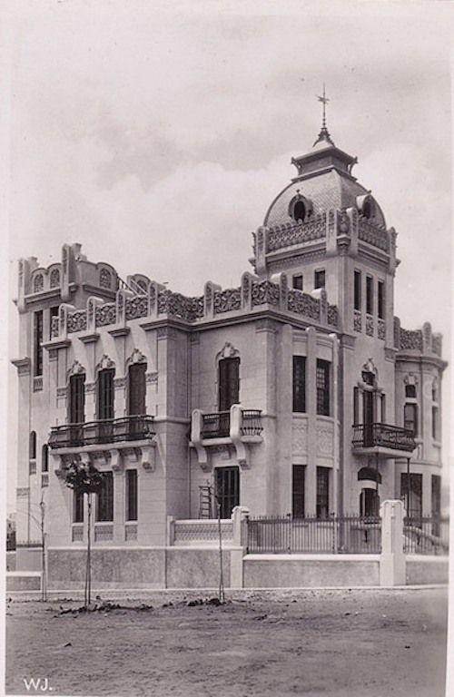 El palacete de Juan Martí Dehesa, en su aspecto original
