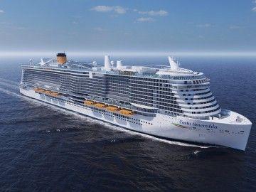 """""""Costa Smeralda"""", la más reciente incorporación de Costa Cruceros"""