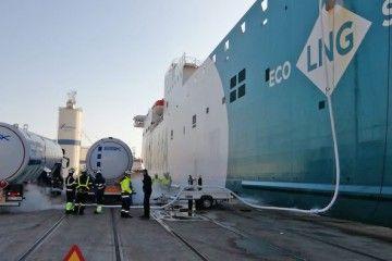 Suministro MTTS a Balearia en el puerto de Valencia