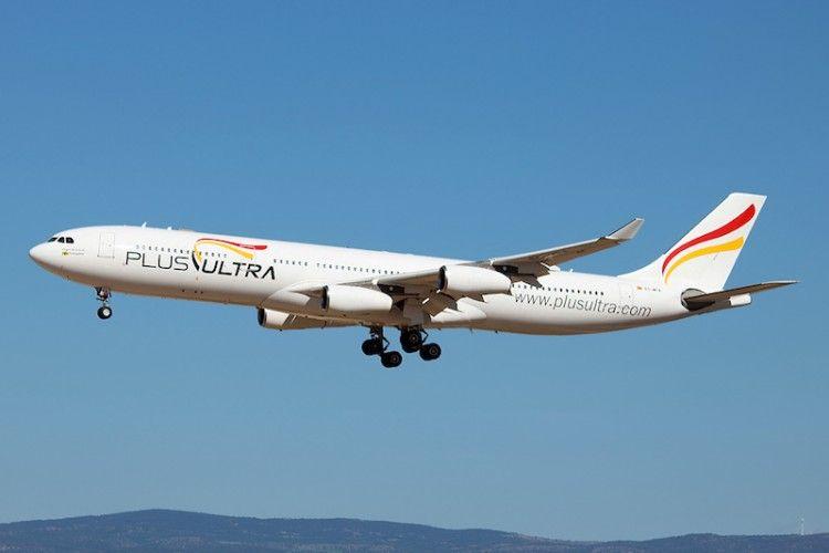 Plus Ultra vuela con aviones Airbus A340