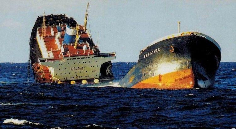 """La tragedia del """"Prestige"""", uno de los sucesos más graves ocurridos a nivel mundial"""