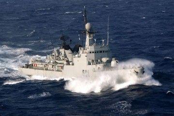 """La corbeta """"Lt. Col. Erramanhi"""", clase """"Descubierta"""", en servicio desde 1983"""