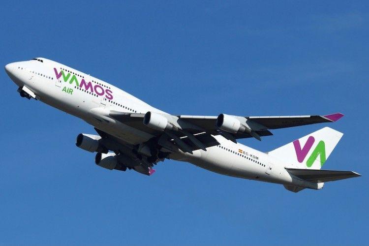 El avión B-747 EC-KSM de Wamos acaba su vida aeronáutica después de 26 años