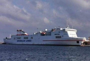 """Esta es la imagen actual del buque """"Venezia"""", ex """"Ciudad de Cádiz"""""""
