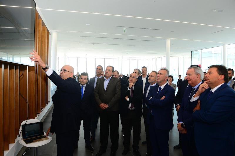 Jaime Cabrera explica las características de la nueva terminal