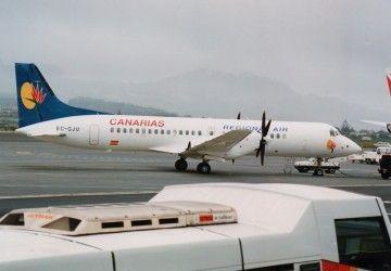 Avión BAe ATP EC-GJU de Canarias Regional Air