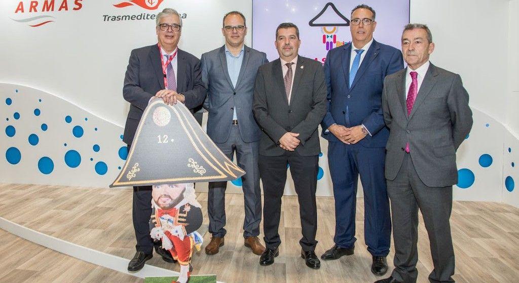 De izquierda a derecha, Juan Carlos Díaz Lorenzo, Antonio Acosta, Juan José Cabrera Guelmes, Juan Pablo Marrero y Paulino Rivero