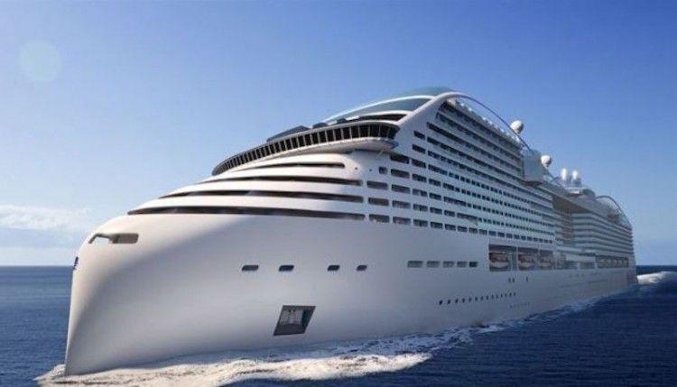 Los nuevos buques de MSC tendrán la proa invertida