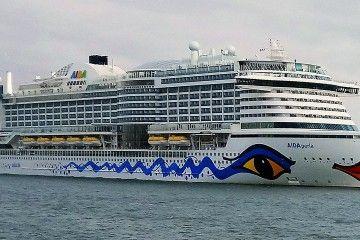 """El buque """"AIDAperla"""" está posicionado en el área del Caribe"""