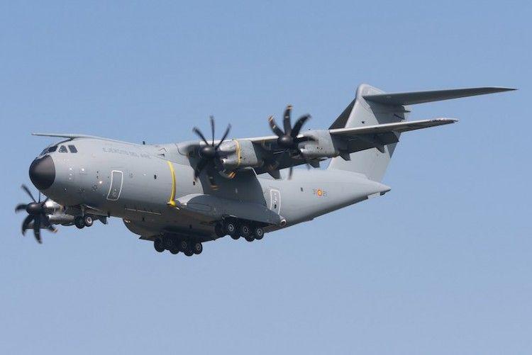 El avión A400M no ha alcanzado el éxito que se esperaba