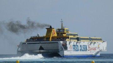 """El trimarán """"Benchijigua Express"""" será uno de los barcos dedicados al nuevo servicio"""