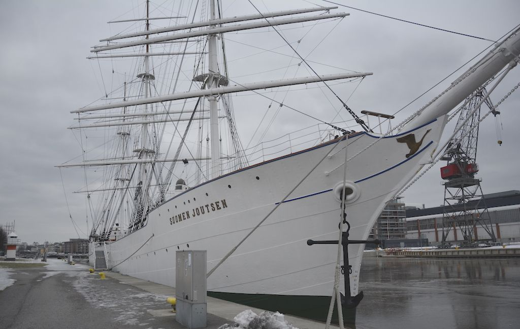 """El buque-escuela """"Suomen Joutsen"""" es propiedad del Museo Marítimo de Turku"""