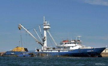 "Este era el buque atunero ""Albacora Seis"""