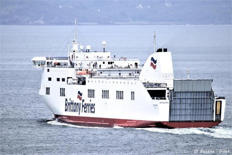 """El buque """"Connemara"""" cubre ahora la linea Rosslare-Bilbao"""