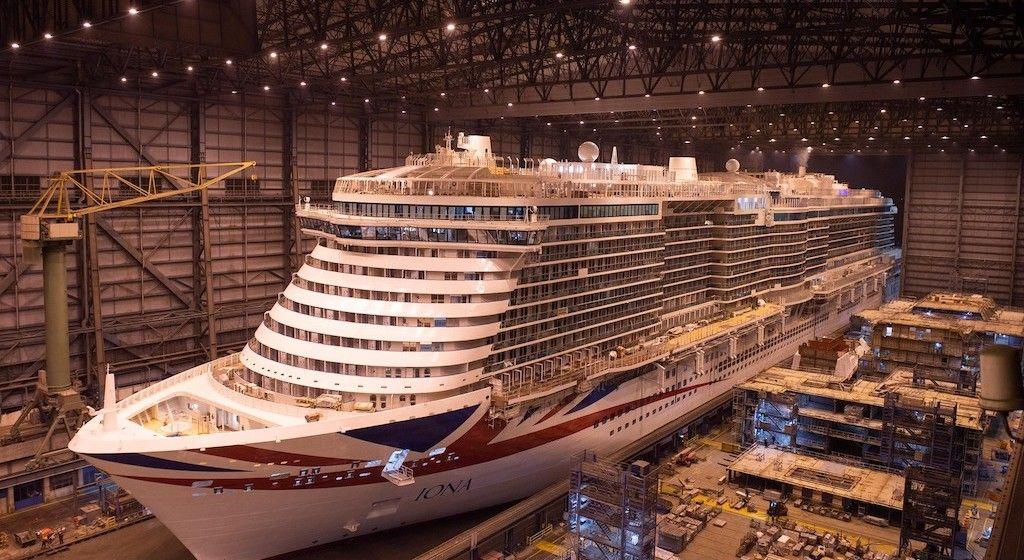 """El buque """"Iona"""" ha sido construido en dique seco cerrado"""