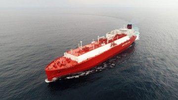 """""""Rías Baixas Knutsen"""", metanero de Knutsen OAS Shipping incorporado en 2019"""