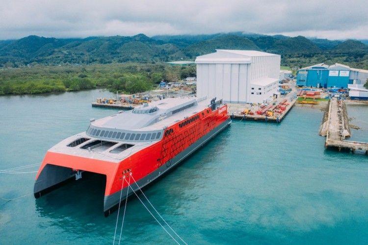 Este es el nuevo catamarán FSTR de Fjord Line