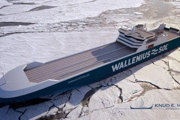 Aspecto exterior de los futuros buques rolones de Wallenius Sol