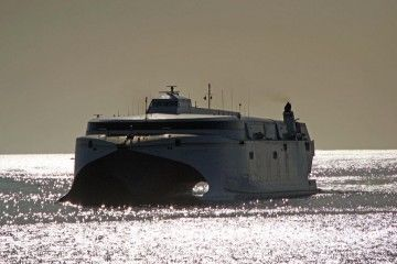 """El catamarán """"Volcán de Tirajana"""" cubre la línea El Hierro-Los Cristianos"""