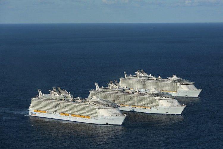 Royal Caribbean amarra su flota en EE.UU. durante 30 días